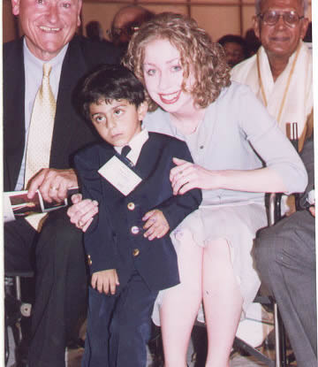 ajay with Chseala Clinton.jpg (51857 bytes)
